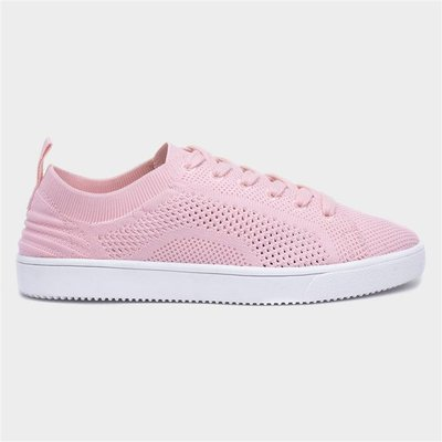 Rocket Dog Tibor Womens Knitted Pink Trainer