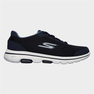 Skechers Gowalk 5 Qualify Lace Up Sports in Blue