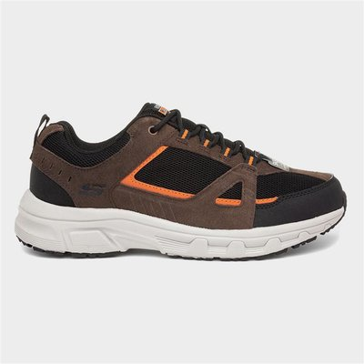 Skechers Oak Canyon Mens Brown Lace Up Trainer