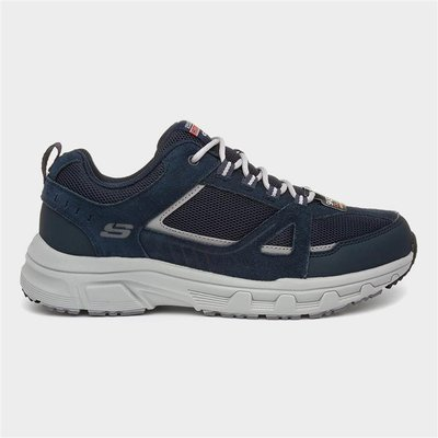 Skechers Oak Canyon Mens Navy Lace Up Trainer