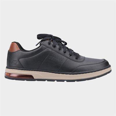 Skechers Mens Evenston Fanton Shoe in Black