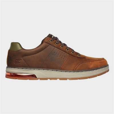 Skechers Mens Evenston Fanton Shoe in Brown