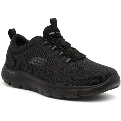 Skechers Summits Mens Black Speed Lace Trainer