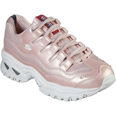 Skechers Energy Glacier Views Trainer in Pink