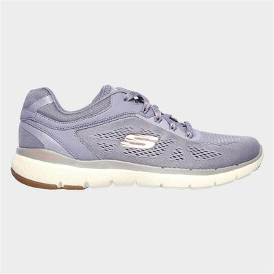 Skechers Flex Appeal 3.0 Lace Up Sports in Purple