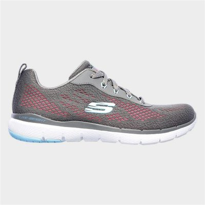 Skechers Flex Appeal 3.0 Pure Velocity in Grey