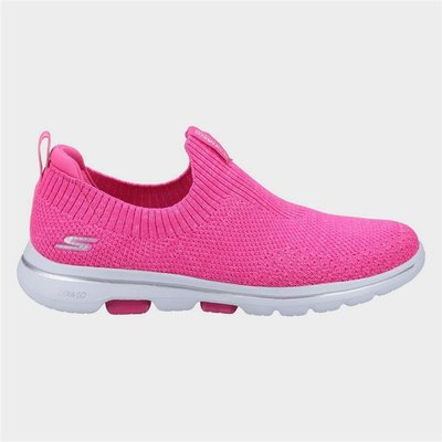 Skechers Gowalk 5 Trendy Slip On Sports in Pink