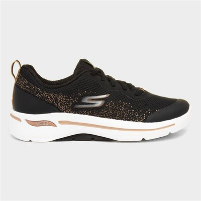 Skechers Arch Fit Engineered Womens Black Trainer