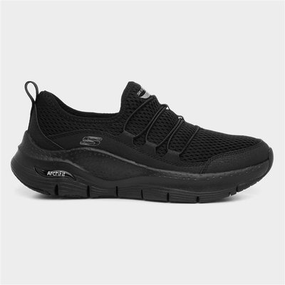 Skechers Arch Fit Lucky Womens Black Trainer