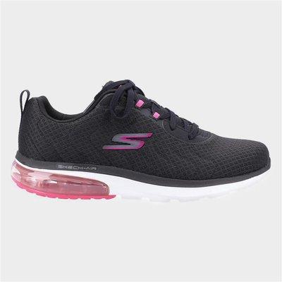 Skechers Go Walk Dynamic Womens Black Trainer
