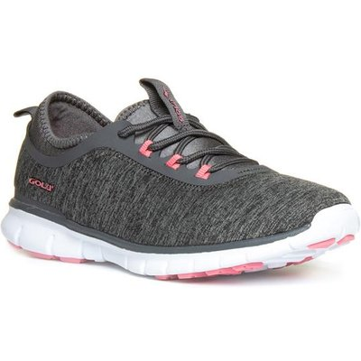 Gola Womens Grey Lace Up Trainer