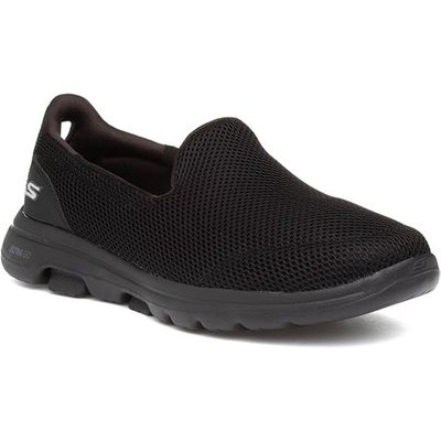 Skechers Go Walk 5 Womens Black Slip On Trainer