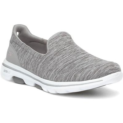 Skechers Go Walk 5 Honor Womens Grey Trainer