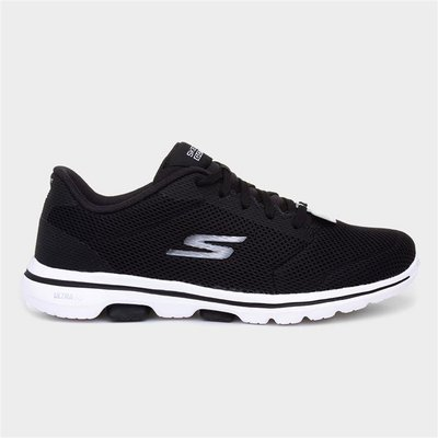 Skechers Go Walk 5 Lucky Womens Black Trainer