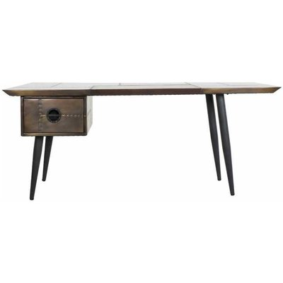 Aviator Brass Wing Desk