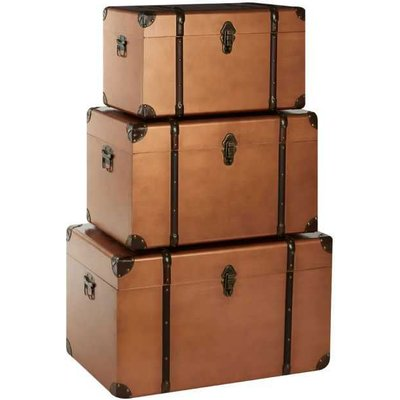 Hawker Copper Storage Trunks