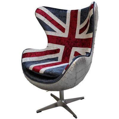 Aviator Union Jack Chair