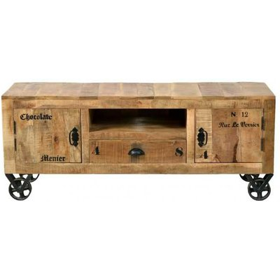 Menier Chocolate Rustic Tv Console