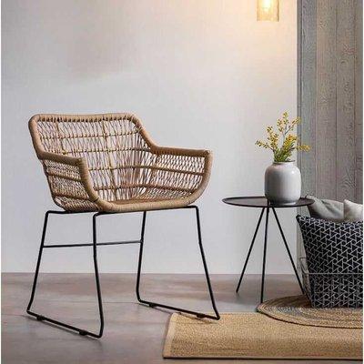 Garden Rattan Chair X2 Set