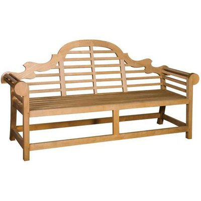 Art Deco Garden Bench