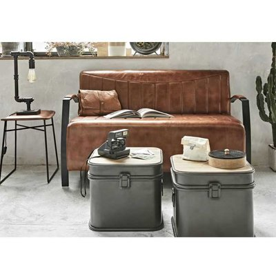 X3 Set Coffee Table Storage Trunk Set