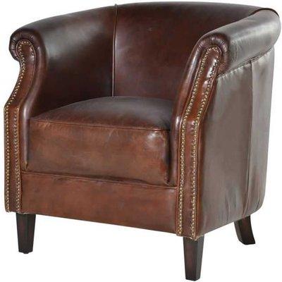 Mayfair Leather Club Chair