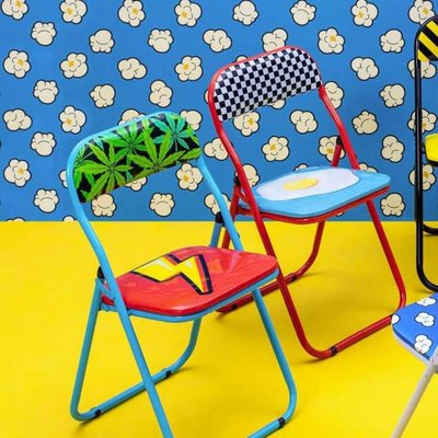 'Blow ' Folding Dining Chairs