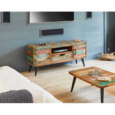 Miami Reclaimed Wood TV Cabinet