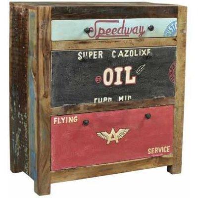 Speedway Reclaimed Wood Shoe Cabinet