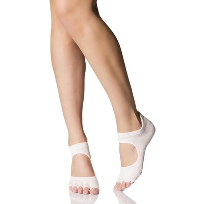 Ladies 1 Pair ToeSox Prima Half Toe Open Foot Dance Ballet Socks