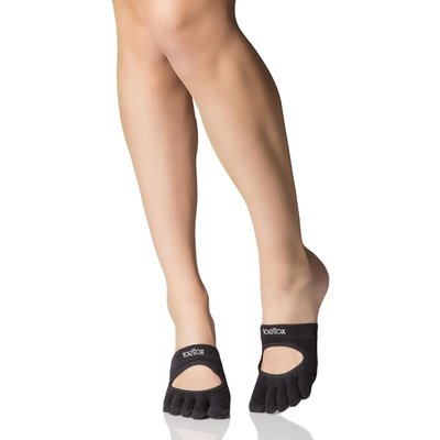 Ladies 1 Pair ToeSox Releve Full Toe Open Foot Dance Ballet Socks