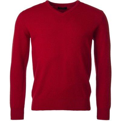 Mens Great   British Knitwear 100  Lambswool Plain V Neck Jumper - 5053801115782