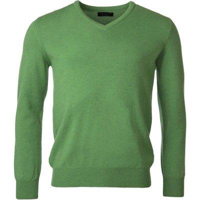 Mens Great   British Knitwear 100  Lambswool Plain V Neck Jumper - 5053801116031