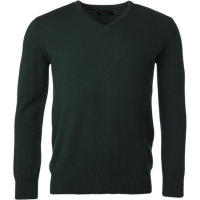 Mens Great   British Knitwear 100  Lambswool Plain V Neck Jumper - 5053801116383