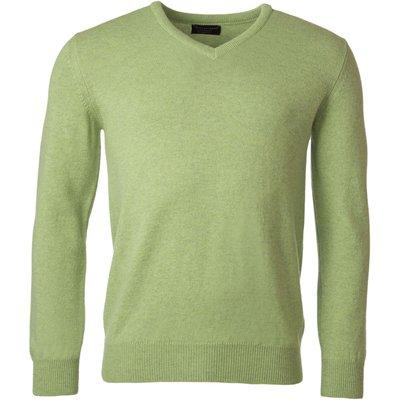 Mens Great   British Knitwear 100  Lambswool Plain V Neck Jumper - 5053801116437