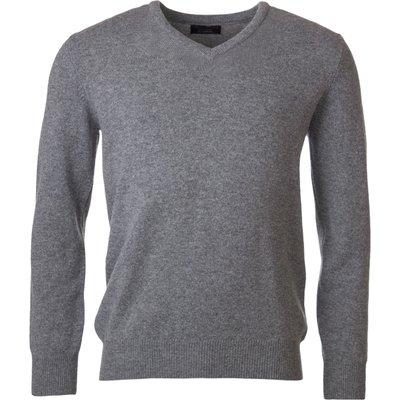 Mens Great   British Knitwear 100  Lambswool Plain V Neck Jumper - 5053801116628