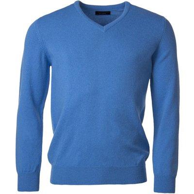 Mens Great   British Knitwear 100  Lambswool Plain V Neck Jumper - 5053801123541