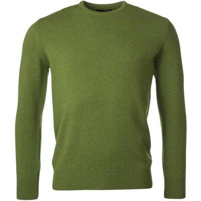 Mens Great   British Knitwear 100  Lambswool Plain Crew Neck Jumper - 5053801124043