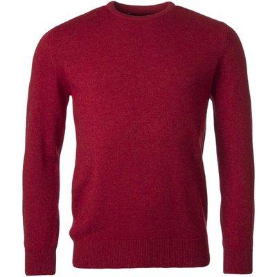 Mens Great   British Knitwear 100  Lambswool Plain Crew Neck Jumper - 5053801124555
