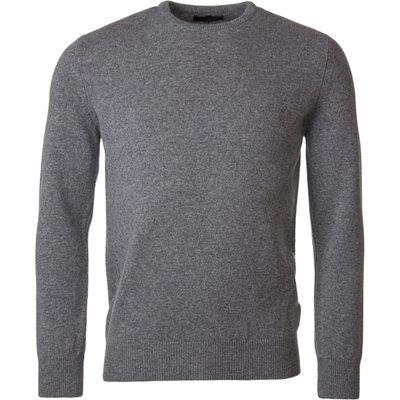 Mens Great   British Knitwear 100  Lambswool Plain Crew Neck Jumper - 5053801124647