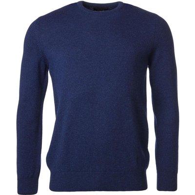 Mens Great   British Knitwear 100  Lambswool Plain Crew Neck Jumper - 5053801125033