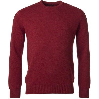 Mens Great   British Knitwear 100  Lambswool Plain Crew Neck Jumper - 5053801125415