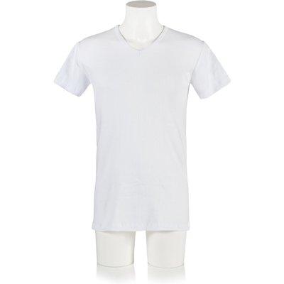 Mens 1 Pack Heat Holders V Neck Short Sleeved Thermal Vest - 5019041112165