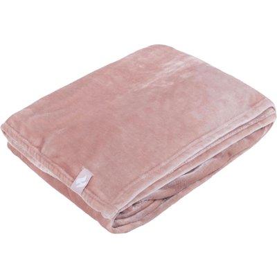 SockShop Heat Holders Snuggle Up Thermal Blanket, Pink