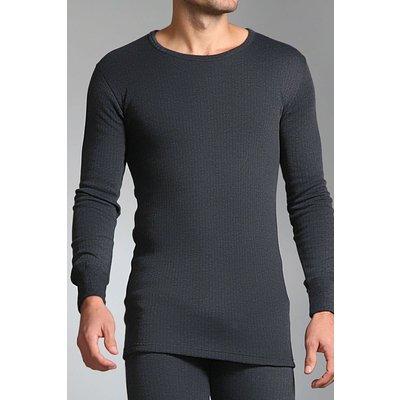 Mens SockShop Heat Holders Long Sleeved Thermal Vest - 5019041021429