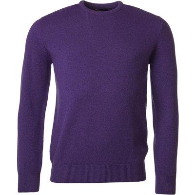 Mens Great   British Knitwear 100  Lambswool Plain Crew Neck Jumper - 5053801124265