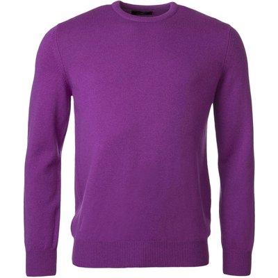 Mens Great   British Knitwear 100  Lambswool Plain Crew Neck Jumper - 5053801124883