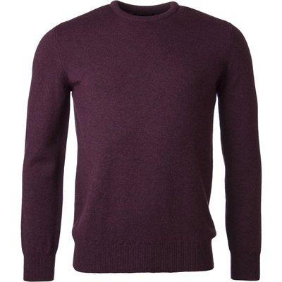 Mens Great   British Knitwear 100  Lambswool Plain Crew Neck Jumper - 5053801125156