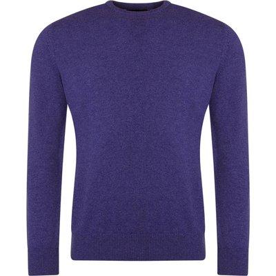 Mens Great   British Knitwear 100  Lambswool Plain Crew Neck Jumper - 5053801006981