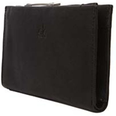 Ladies Calvin Klein Textured Leather Wallet For Notes  Cards and Coins - 8051086197001